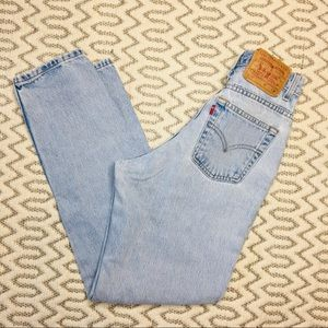 Vintage Levi's 550 High Rise Wedgie Fit Size 6R